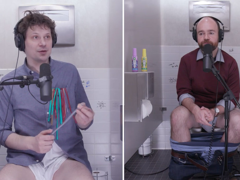 Air Wick dropped a podcast recorded from the potty | AdAge
