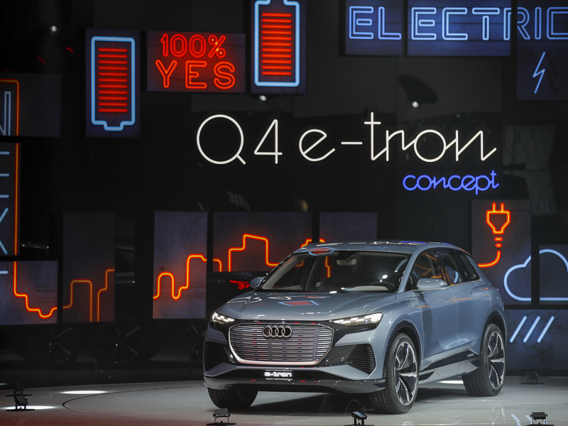 Audi recalls its first electric SUV in the U.S. on the risk of a battery fire