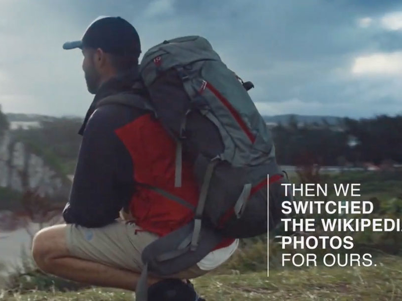North Face Wikipedia stunt: unruly markets demand unruly marketing