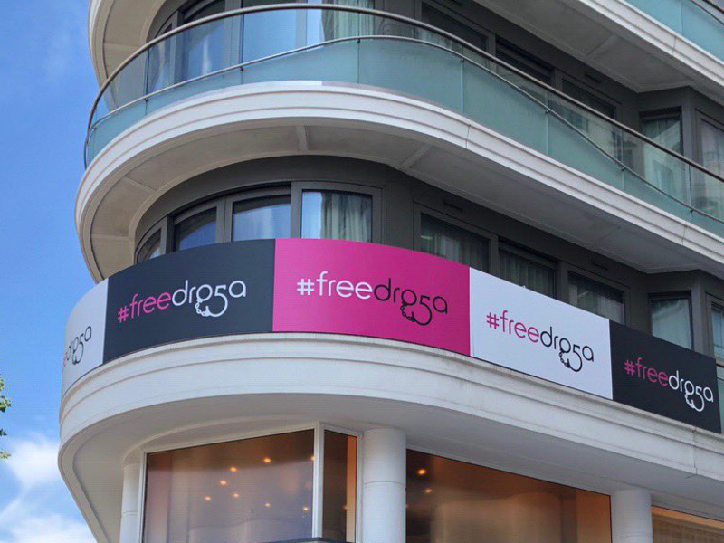 Terri & Sandy launch cheeky fundraiser to 'free Droga'