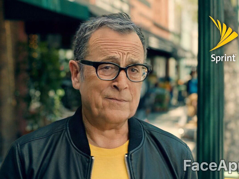 We ran famous brand spokespeople through FaceApp—because why not