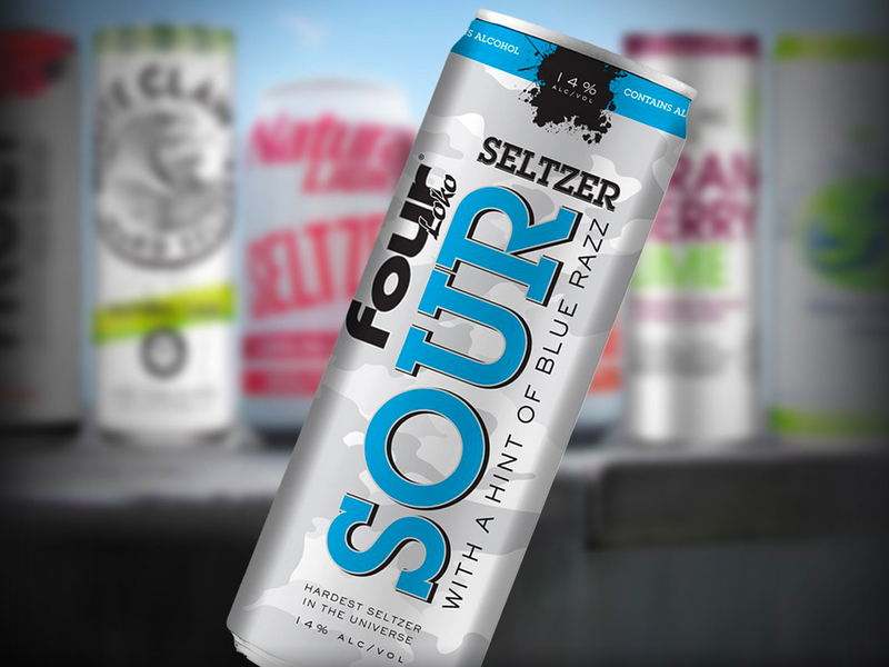 Four Loko teases 'the hardest seltzer in the universe ...