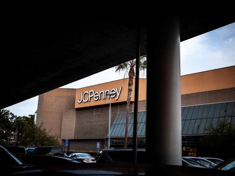 J.C. Penney shares soar despite disappointing sales