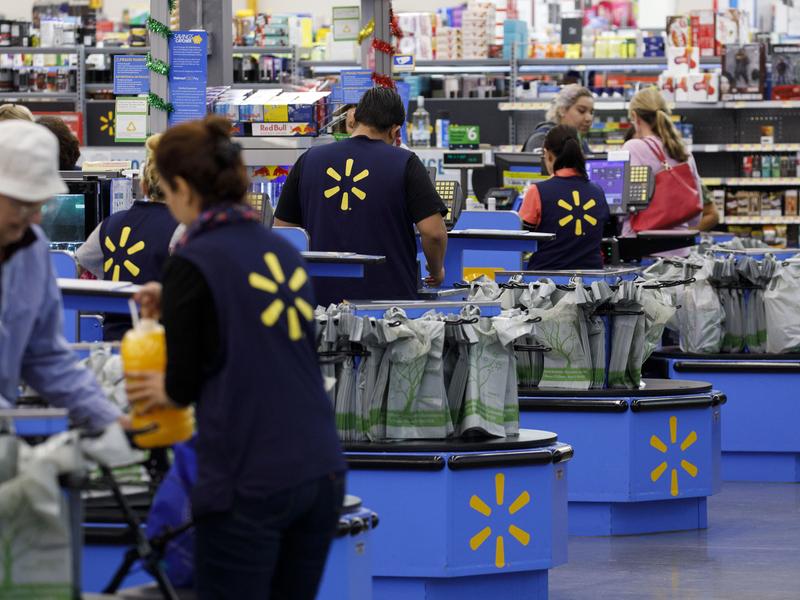Walmart boosts forecast after beating estimates