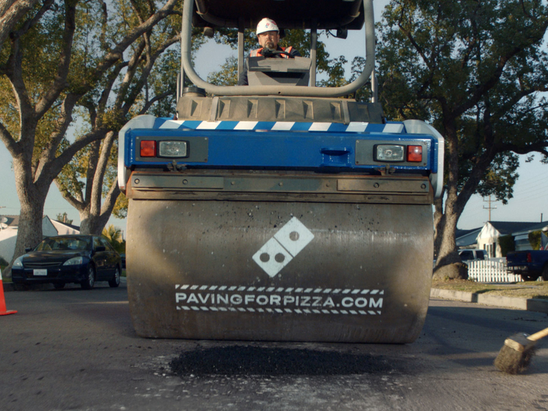 How Domino's carryout campaign turned into a 50-state infrastructure project