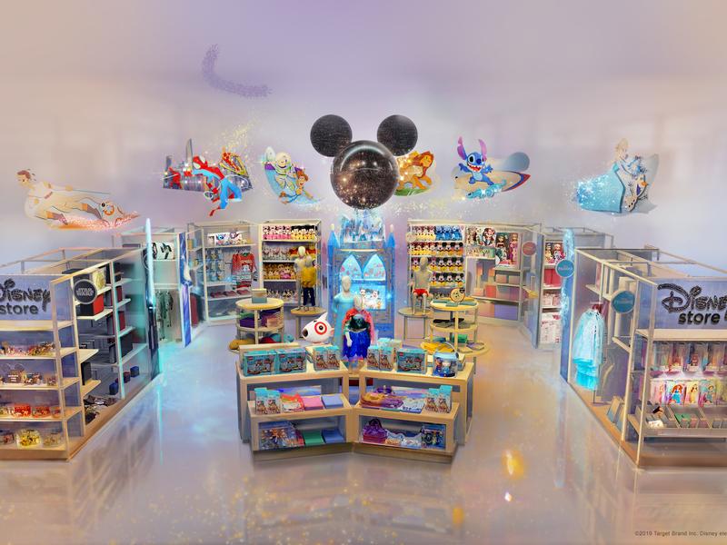 Target, Disney partner on store displays to grab holiday sales