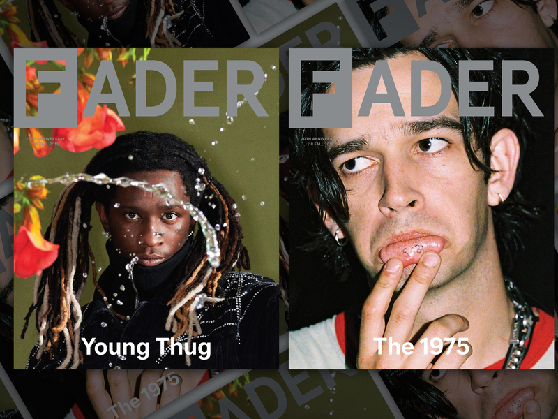 The 1975's Matt Healy and Young Thug front The Fader's 20th-anniversary issue