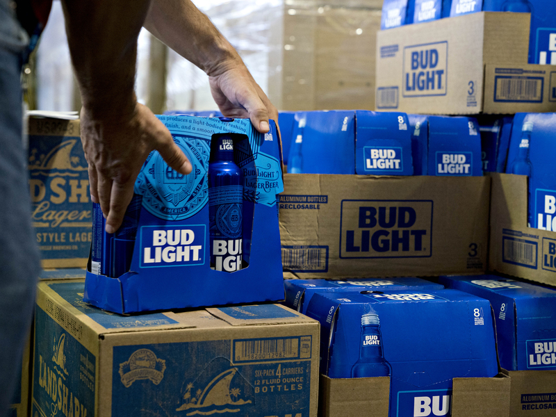 Bud Light Seltzer is in the works amid hard seltzer sales craze
