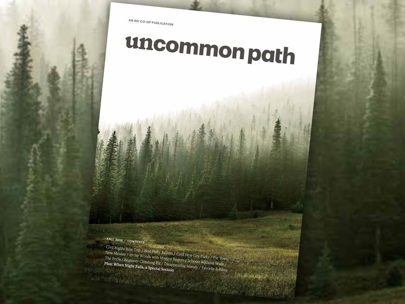 Outdoor retailer REI launches a magazine, Uncommon Path