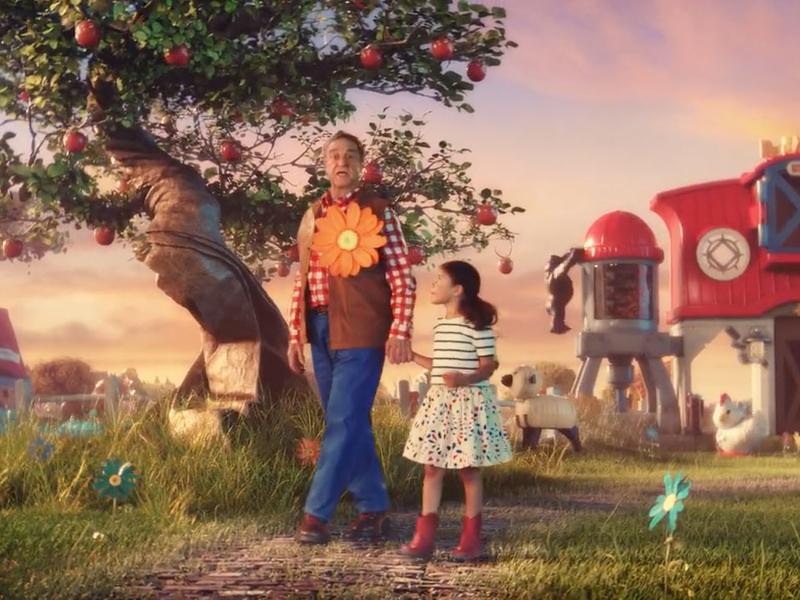 John Goodman stars in Fisher Price's nostalgia-soaked new commercial, its first from Wieden & Kennedy