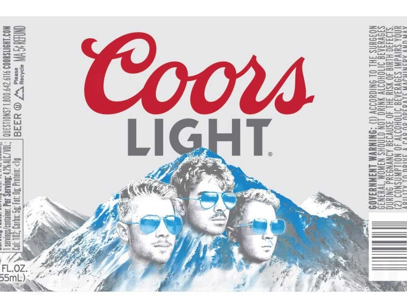 Jonas Brothers get plastered on Coors Light bottles: Marketer's Brief