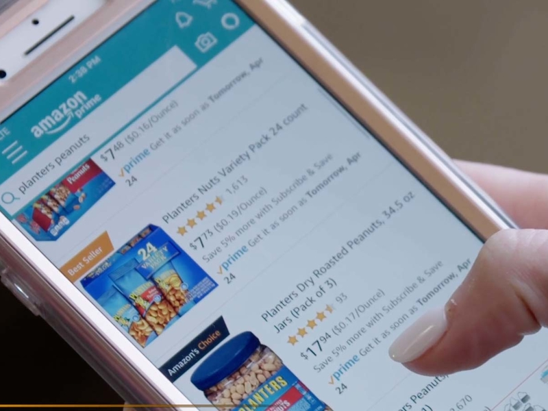 Amazon nibbles away at Google's search advertising dollars