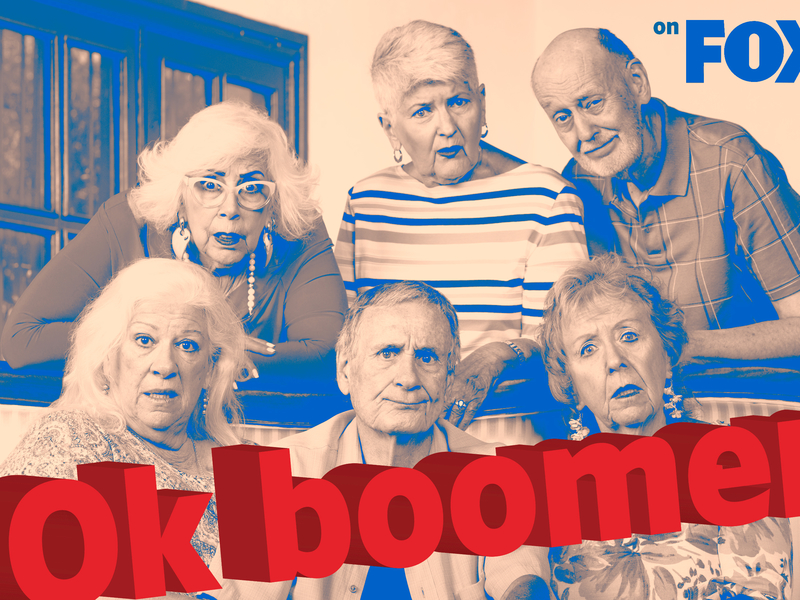 Fox files trademark for 'OK boomer'