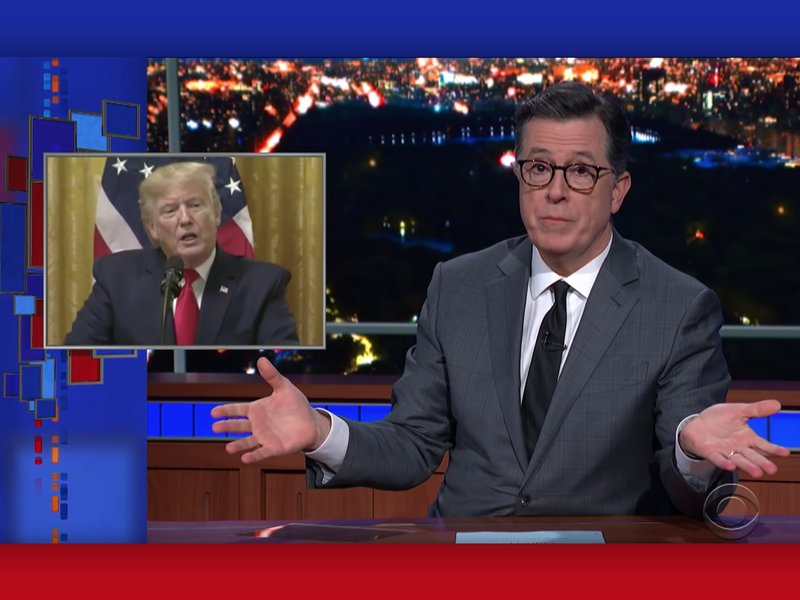 Trump Fatigue levels the late-night playing field