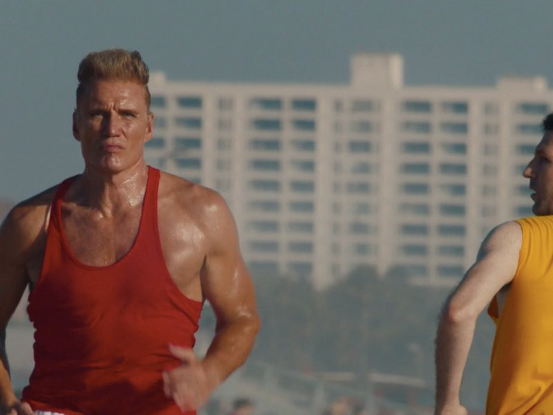 A Dolph Lundgren cameo gives TD Ameritrade