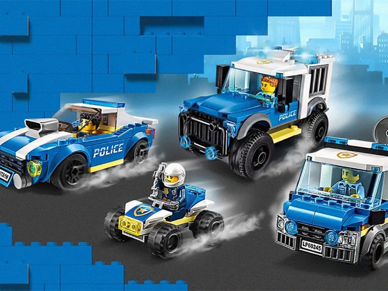 Lego paused all advertising due to the protests, not just for police-related toys