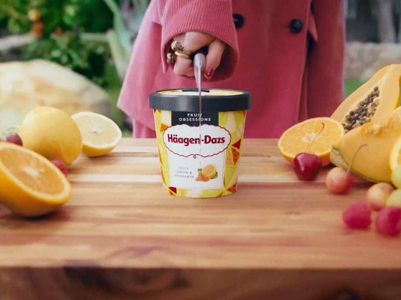 Haagen-Dazs says 'Don't hold back' in global campaign with more inclusive approach