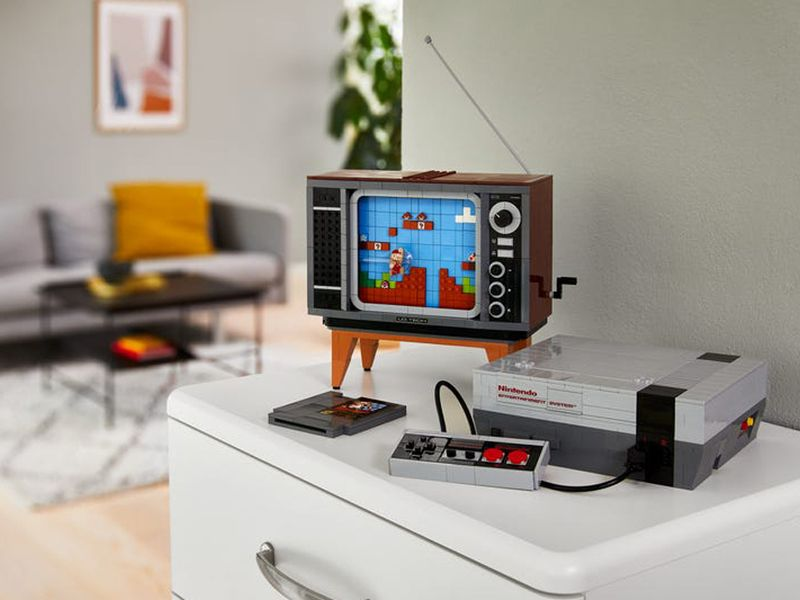 LEGO is releasing its own Nintendo Entertainment System that you can 'play'