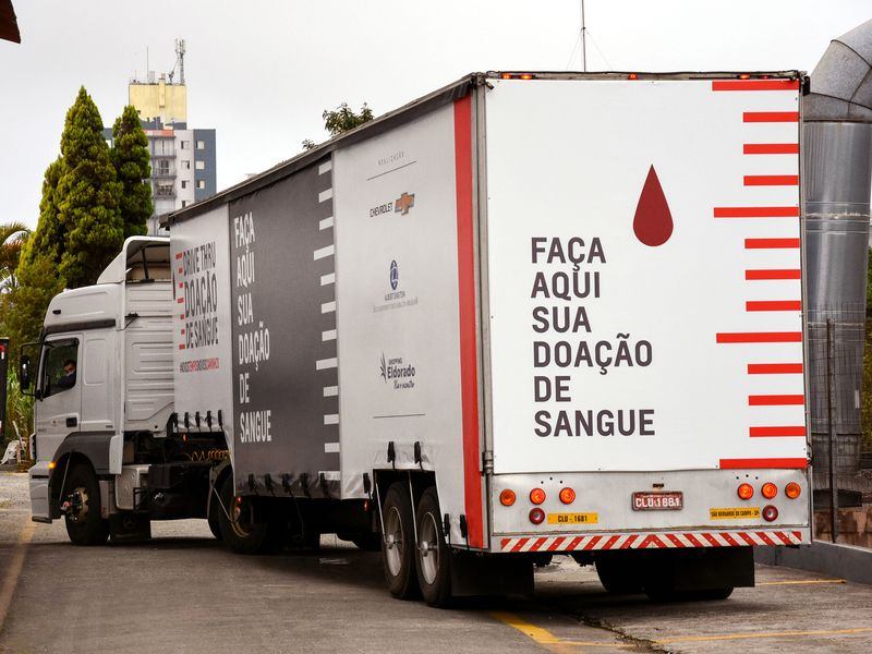Agency Brief: Brazil's drive-thru' blood drive combats declining donations