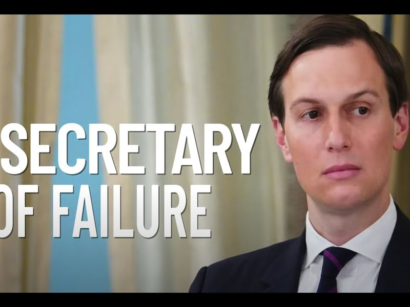 'Secretary of Failure': Conservative PAC goes after Trump's son-in-law Jared Kushner in blistering new attack ad
