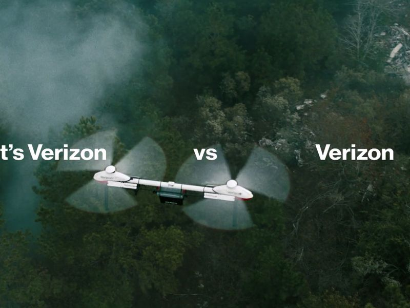 Verizon goes against Verizon to highlight its performance in the toughest of situations | Ad Age