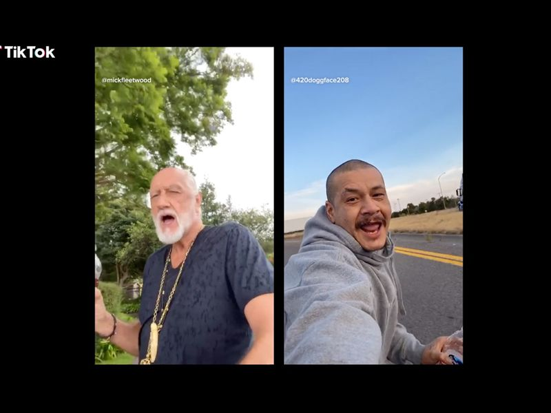 TikTok spins Ocean Spray-Fleetwood Mac viral video into a commercial - AdAge.com