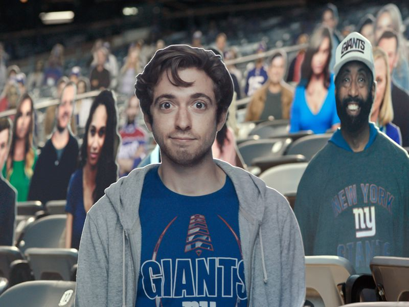 Watch Bud Light's ode to the cardboard sports fan
