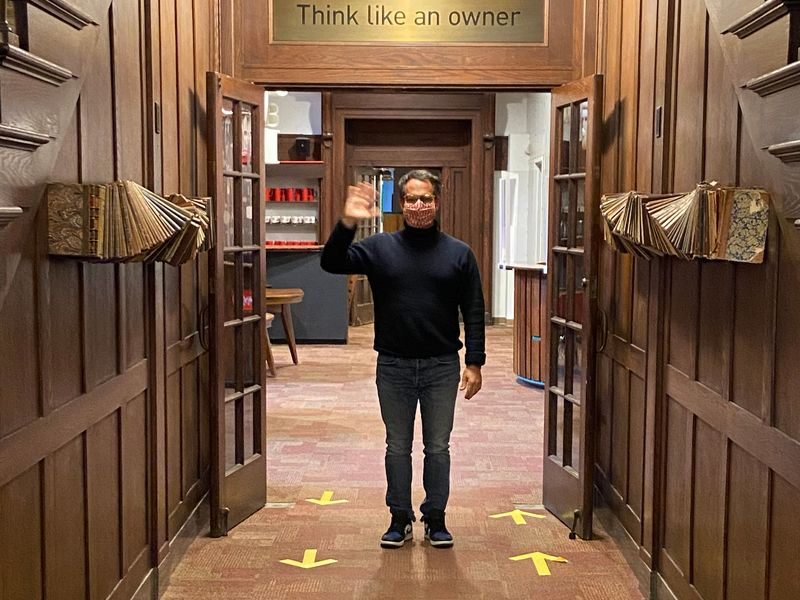 Welcome back: VIA Agency's CCO chronicles his first day back at the office  | Ad Age