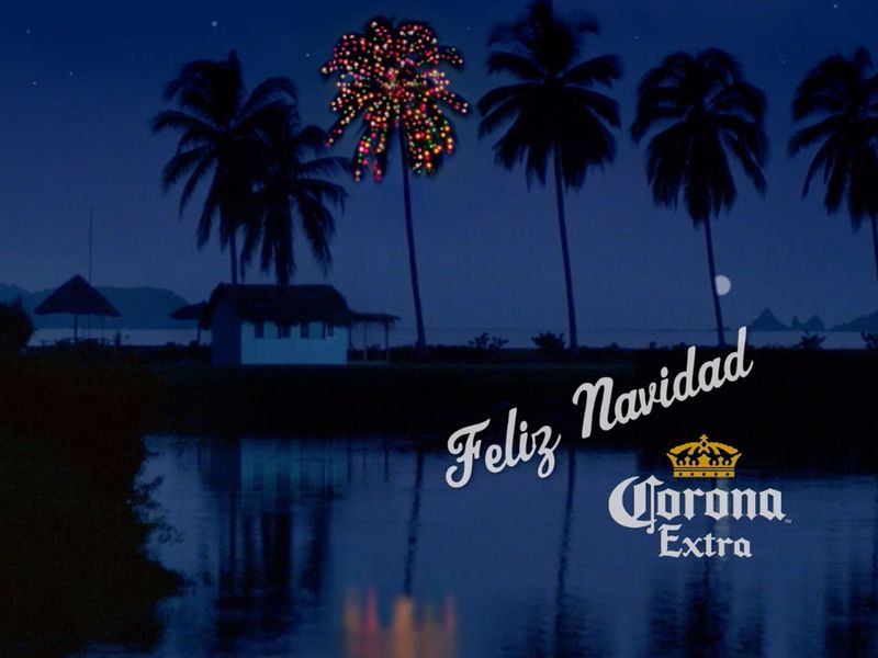 Corona beer's 30-year-old Christmas ad takes on new relevance in social distancing age | Ad Age