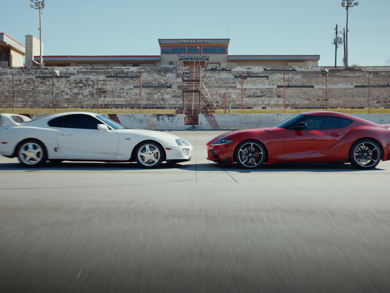 How Toyota is marketing Supra's comeback