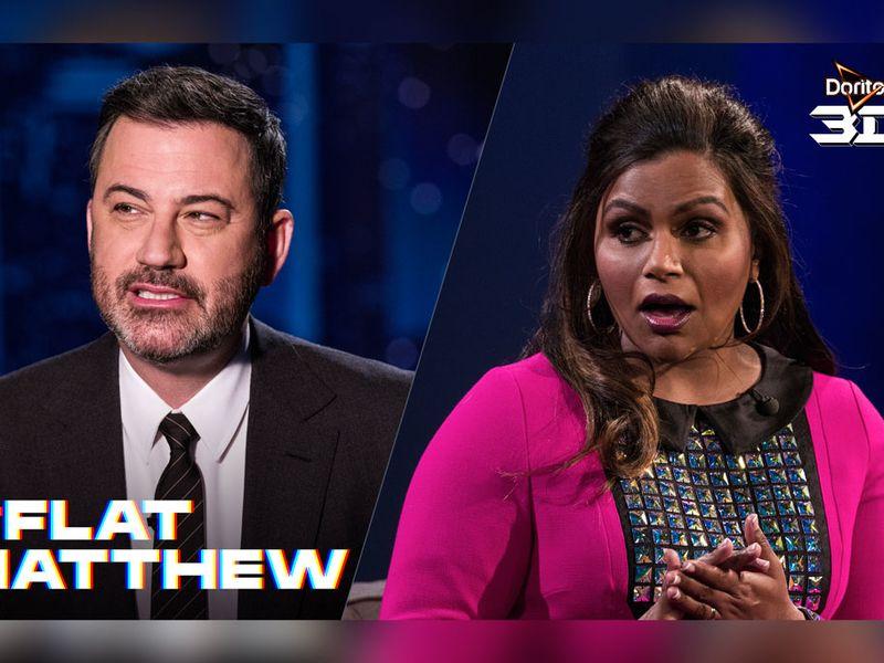 Doritos Super Bowl teaser stars Jimmy Kimmel and Mindy Kaling