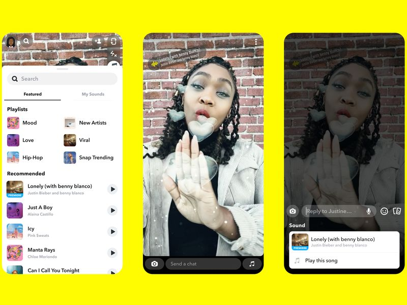 Snpachat snags musical rights to all of Universal Music Group's artists