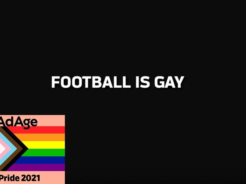 The NFL says 'football is gay' in latest ad | Ad Age
