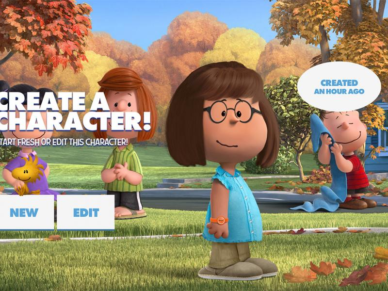 Become a Peanuts Character With 20th Century Fox's