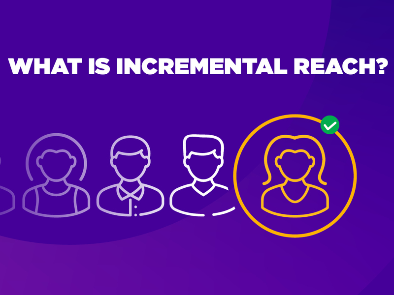 What is incremental reach?
