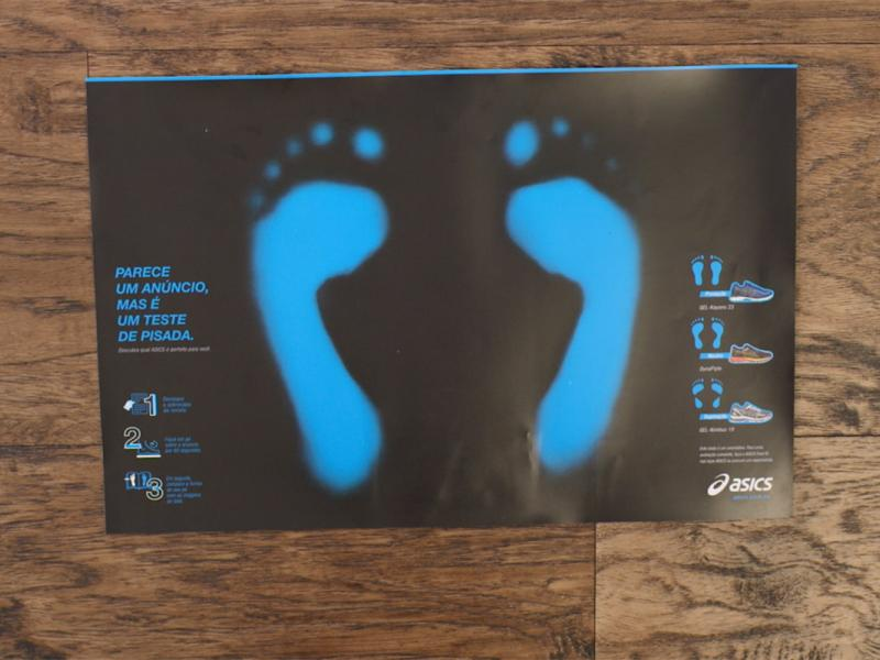 This ASICS Print Ad Works Out What Kind of Running Shoe You Need