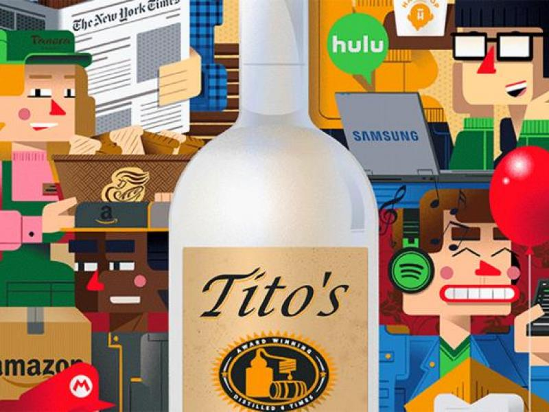 Tito's Handmade Vodka Tops Ad Age's Marketers of the Year