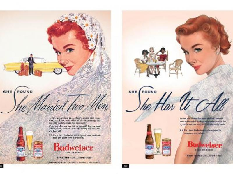 Budweiser modernizes its old sexist ads for Women's Day campaign | AdAge