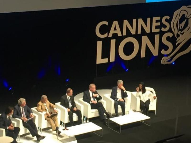 U.N. Gathers Holding Company Heads on One Stage at Cannes for 'Biggest Anti-Poverty, Pro-Planet Mission'