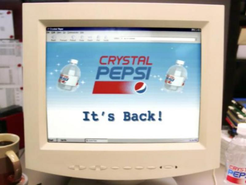 Whoomp! There It Is -- Crystal Pepsi Is Coming Back | AdAge