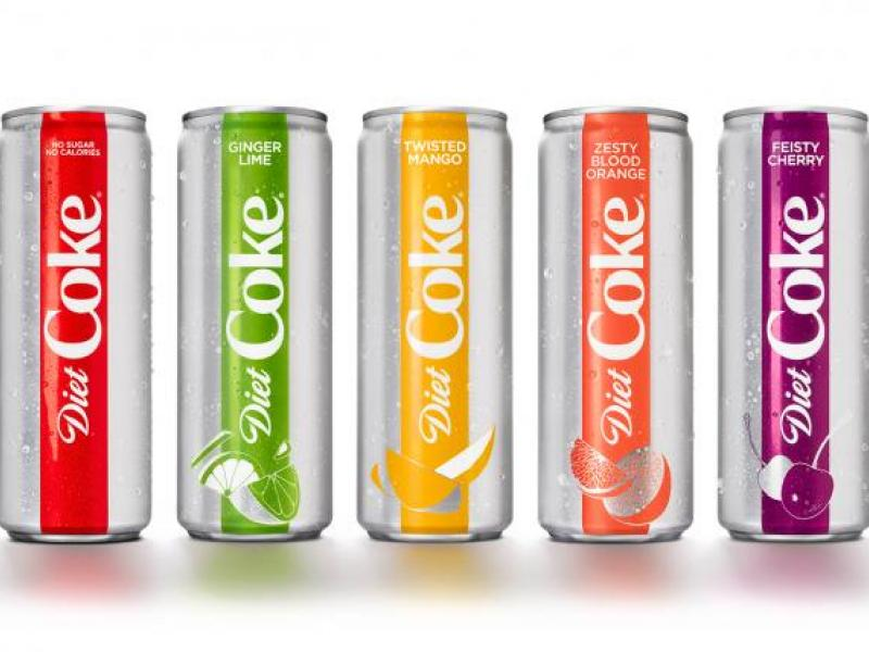 Diet Coke Gets a New Look, Adds Flavors In Move to Overcome Slump