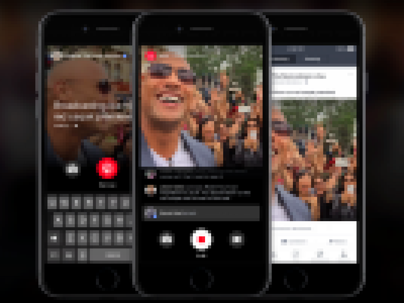 Facebook Adds Live Streaming but Only for Famous People