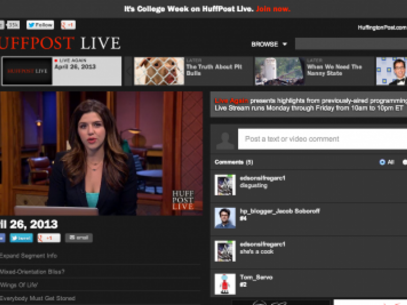 AOL's HuffPost Live Gets Shot on Cable With Mark Cuban's AXS