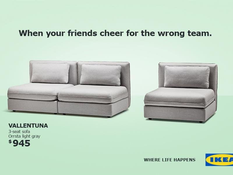 Not Into The World Cup Ikea Has Flexible Sofa Ideas For You Adage