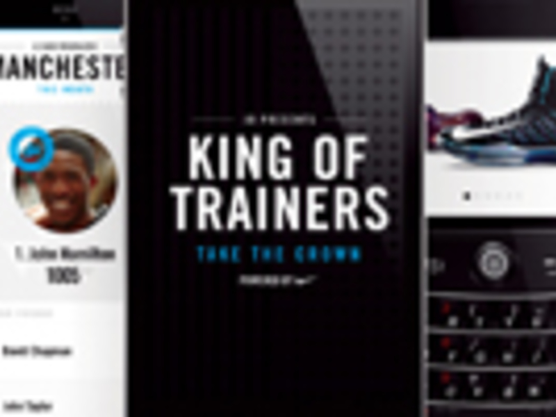 JD Sports/Nike : King of Trainers 1