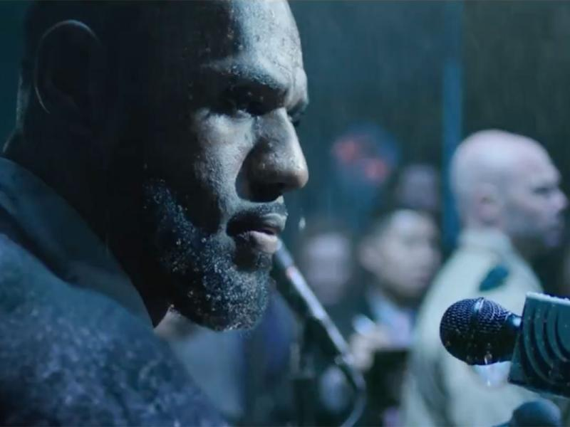 dd6fc1004e3 LeBron James Gets Wet as he Compares Doubt to Rain in Kia s Latest Spot