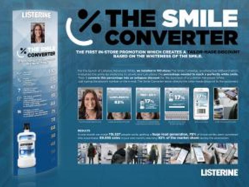 LIsterine: The Smile Converter | AdAge