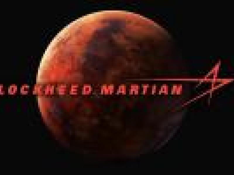 Lockheed 'Martian' changes logo to celebrate Mars landing