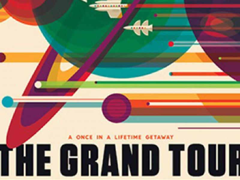 NASA's Gorgeous Retro Posters Show Space Travel Isn't As Far Out As You Think