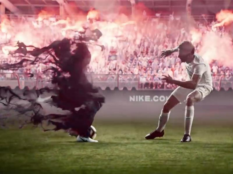 Atravesar alquitrán malla  A 'phantom' takes the soccer world by storm in Nike's action-packed ad | Ad  Age
